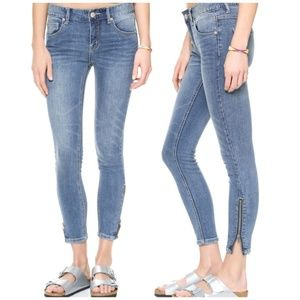Free People High Rise Ankle Jean Size 29
